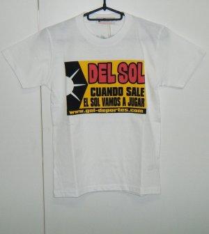 画像1: gol. BOYS DEL SOL Tシャツ ホワイト