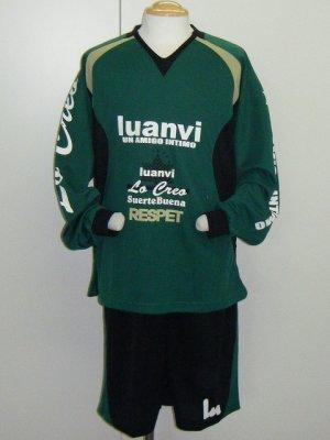 画像1: luanvi 長袖プラスーツ グリーン