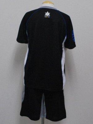 画像2: luanvi プラクティススーツ上下セット ブラック