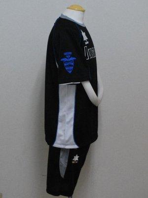 画像3: luanvi プラクティススーツ上下セット ブラック