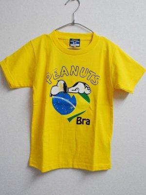 画像1: gol. スヌーピーコラボchicuitoTシャツ イエロー