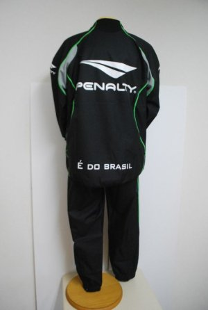 画像2: PENALTY ピステスーツ(上下セット) ブラック×グレー