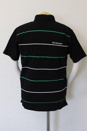 画像2: PENALTY ボタンダウンポロシャツ ブラック