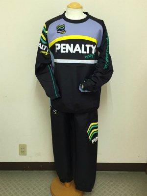 画像1: PENALTY ハイスピステスーツ ブラック