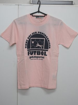 画像1: gol. BOY'S FUTBOL Tシャツ ピンク