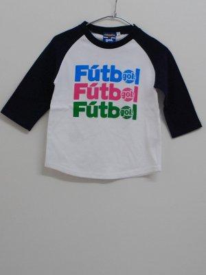 画像1: gol. TODDLER3/4スリーブラグランTシャツ ネイビー