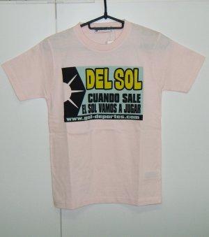 画像1: gol. BOYS DEL SOL Tシャツ ピンク