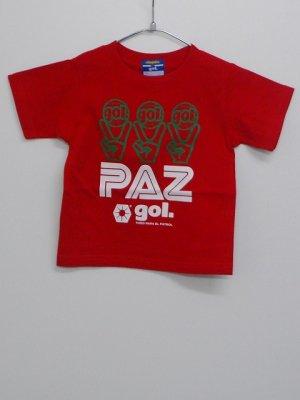 """画像1: gol. KIDS""""PAZ"""" Tシャツ レッド"""