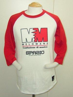 画像1: SPAZIO MELO七分Tシャツ レッド