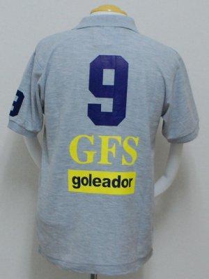 画像2: goleador 鹿の子No.9ポロシャツ グレー