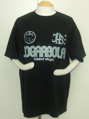 画像1: JOGARBOLA プラクティスシャツ ブラック×ホワイト