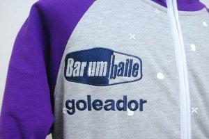 画像4: goleador モノグラムコンビパーカー グレー