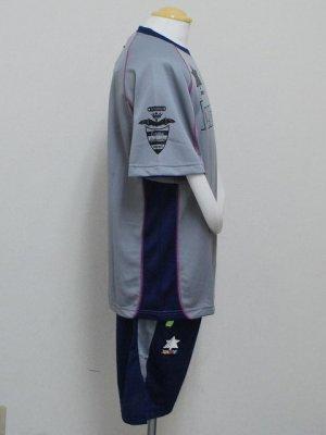 画像3: luanvi プラクティススーツ上下セット グレー