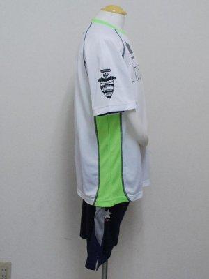 画像3: luanvi プラクティススーツ上下セット ホワイト