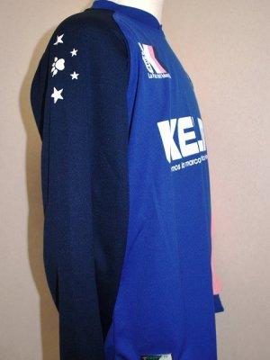 画像3: KELME ロングプラスーツ上下セット ブルー