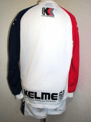 画像2: KELME ロングプラスーツ上下セット ホワイト