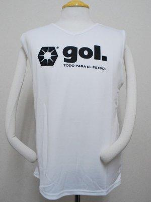 画像1: gol. ノースリーブインナー ホワイト