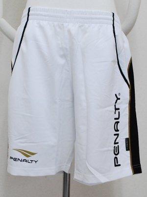 画像1: PENALTY ウーブンラインパンツ ホワイト
