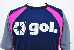 画像5: gol. ストリームラインプラクティスシャツ ネイビー