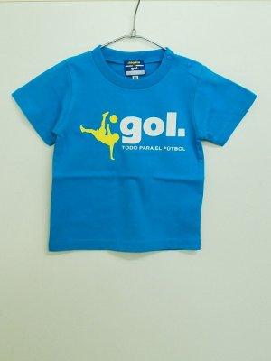 画像1: gol. キッズオーバーヘッドTシャツ T.ブルー