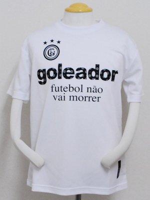 画像1: goleador モノグラムラメプラシャツ ホワイト