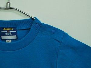 画像4: gol. キッズオーバーヘッドTシャツ T.ブルー