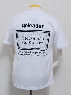 画像2: goleador モノグラムラメプラシャツ ホワイト
