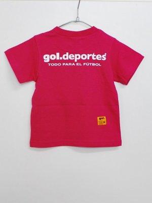 画像2: gol. キッズオーバーヘッドTシャツ H.ピンク