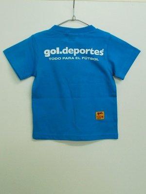 画像2: gol. キッズオーバーヘッドTシャツ T.ブルー