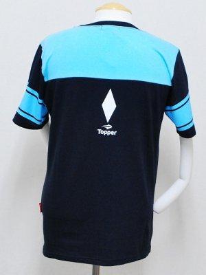 画像2: Topper×日本人 フットボールTシャツ ネイビー