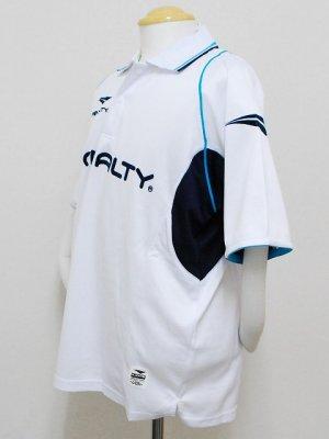 画像5: PENALTY メッシュポロシャツ ホワイト
