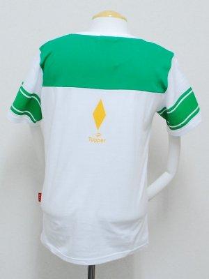 画像2: Topper×日本人 フットボールTシャツ ホワイト