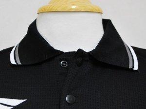 画像4: PENALTY メッシュポロシャツ ブラック