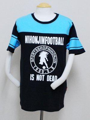 画像1: Topper×日本人 フットボールTシャツ ネイビー