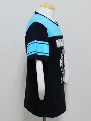 画像3: Topper×日本人 フットボールTシャツ ネイビー