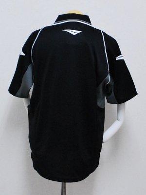 画像2: PENALTY メッシュポロシャツ ブラック
