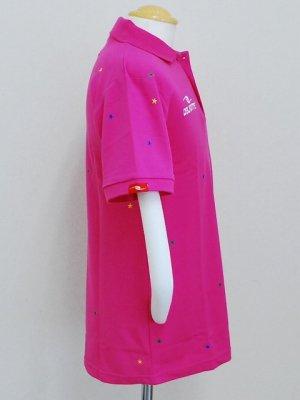 画像3: DalPonte ブラジルカラースターポロシャツ ピンク