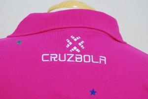 画像4: DalPonte ブラジルカラースターポロシャツ ピンク