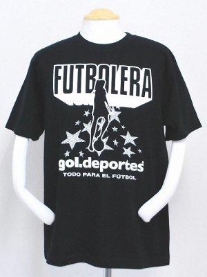 画像1: gol. かえでコラボTシャツ ブラック