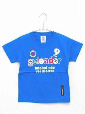 画像1: goleador No.9キッズTシャツ ターコイズ