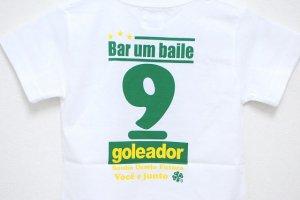 画像4: goleador No.9キッズTシャツ ホワイト