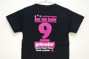 画像4: goleador No.9キッズTシャツ ピンク