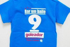 画像4: goleador No.9キッズTシャツ ターコイズ