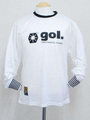 画像1: gol. プラクティスシャツ ホワイト