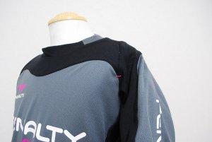 画像4: PENALTY トレスウェットスーツ(上下セット) グレー×ブラック