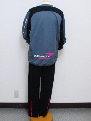 画像2: PENALTY トレスウェットスーツ(上下セット) グレー×ブラック