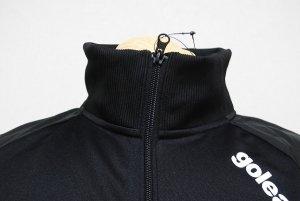 画像4: goleador スムースピステコンビネーションZIPジャケット&パンツ ブラック/ブラック