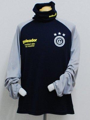 画像1: goleador ルーズネックプラシャツ D.ブルー