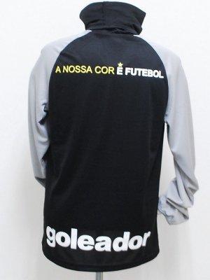 画像2: goleador ルーズネックプラシャツ ブラック