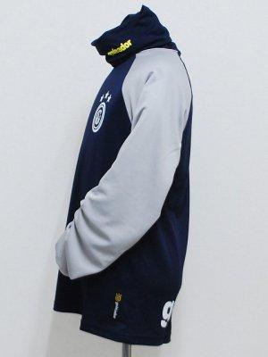 画像3: goleador ルーズネックプラシャツ D.ブルー